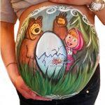 Belly paint para embarazadas en Madrid