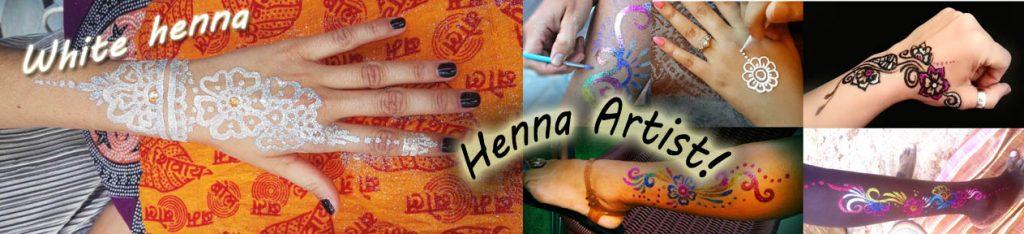 Contratar artista de henna para fiestas