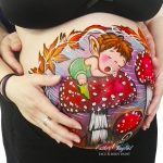 Pintura para bellypainting en Madrid