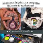 Vale regalo para pintura en el embarazo en Madrid